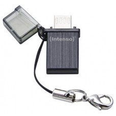 Intenso Mini Mobile Line, 8GB 8GB USB 2.0 Capacity Negro unidad flash USB