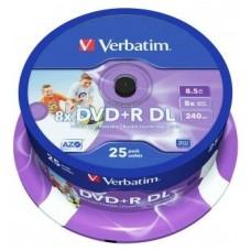 VERBATIM-DVD 25 R DL