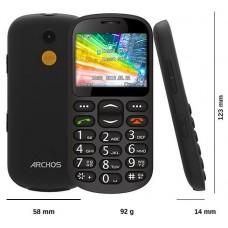 "SMARTPHONE SENIOR PHONE ARCHOS 2"",31 64MB BLUETOOTH CAMARA"