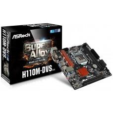 Asrock H110M-DVS R3.0 Intel H110 LGA 1151 (Socket H4) microATX placa base