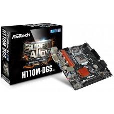 Asrock H110M-DGS R3.0 Intel H110 LGA 1151 (Socket H4) microATX placa base