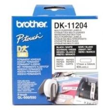 Brother Etiquetas precortadas multipropósito (papel térmico)