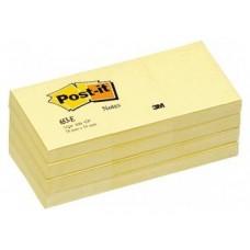 NOTAS ADHESIVAS POST-IT 3M 38X51 PACK12