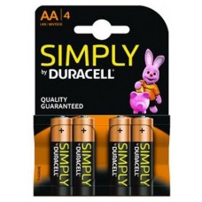 PILAS DURACELL LR6 SIMPLY