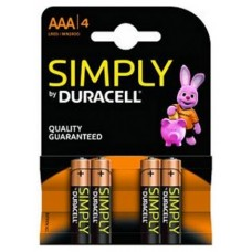 PILAS DURACELL LR03 SIMPLY
