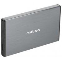 """CAJA EXTERNA NATEC RHINO GO DISCO DURO 2,5"""" USB 3.0 SATA GRIS"""