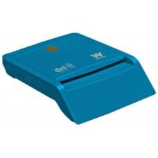 Woxter PE26-143 Interior USB 2.0 Azul lector de tarjeta inteligente