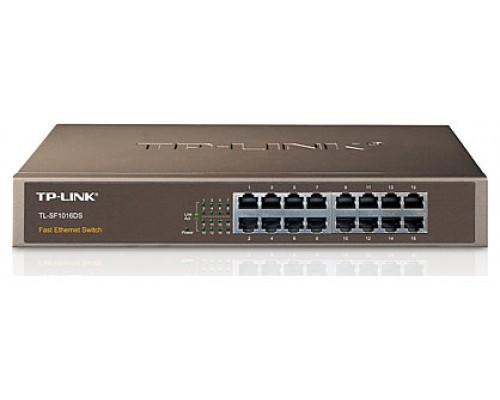 TP-LINK TL-SF1016DS Unmanaged network switch switch