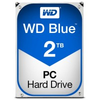 "HD 3.5"" WESTERN DIGITAL 2TB BLUE SATA3 64MB"